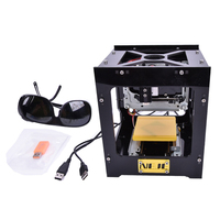 300mW DIY USB Mini laserowa wycinarka cnc grawerowanie laserowe drukarki grawer do drewna  tworzyw sztucznych  bambusa  gumy  skóry i tak dalej|Frezarki do drewna|Narzędzia -