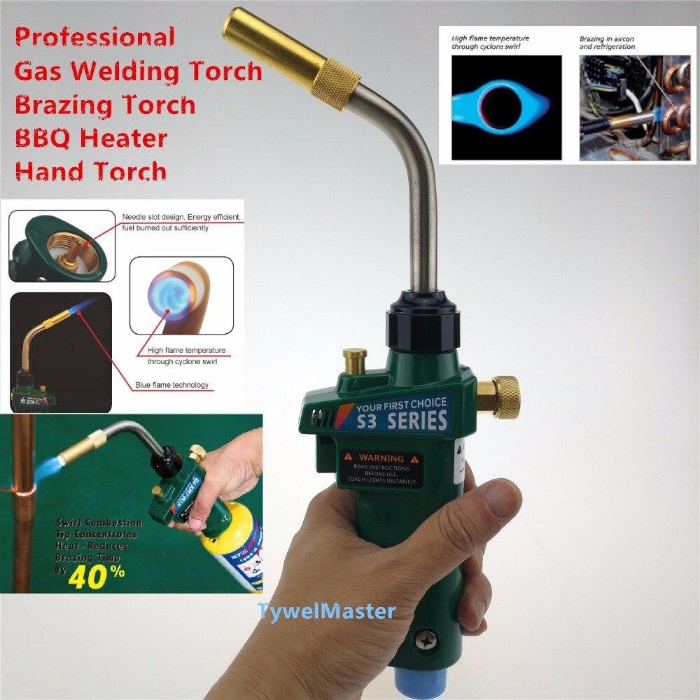 Brasatura Saldatura Torcia MAPP Gas Propano Torcia di Auto Accensione w Trigger Style CGA600 Riscaldamento Saldatura Bruciatore