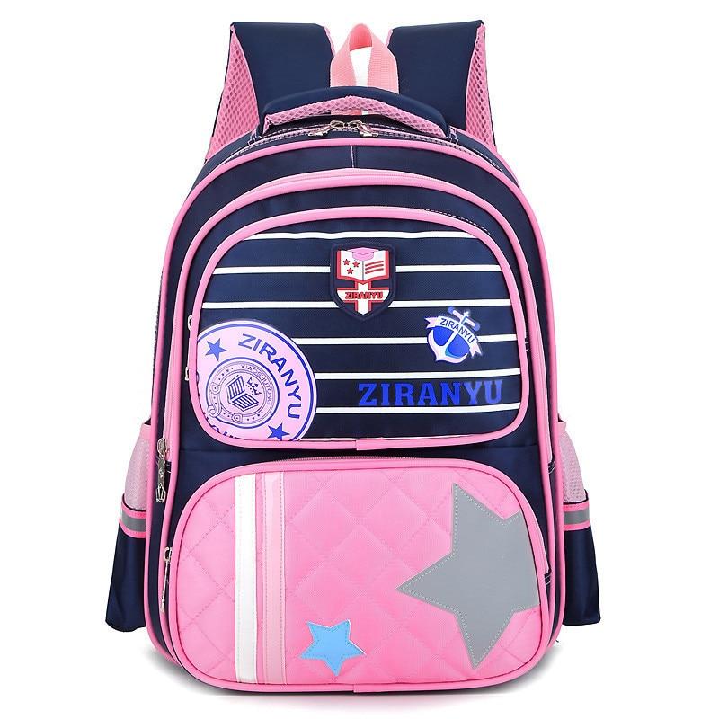 Новые девушки школьная сумка Водонепроницаемый свет Вес Дети Рюкзак Дети Печать Рюкзак основной рюкзак для мальчиков девочек Mochilas