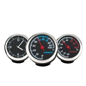 3Pcs/Set Car Thermometer Hygro