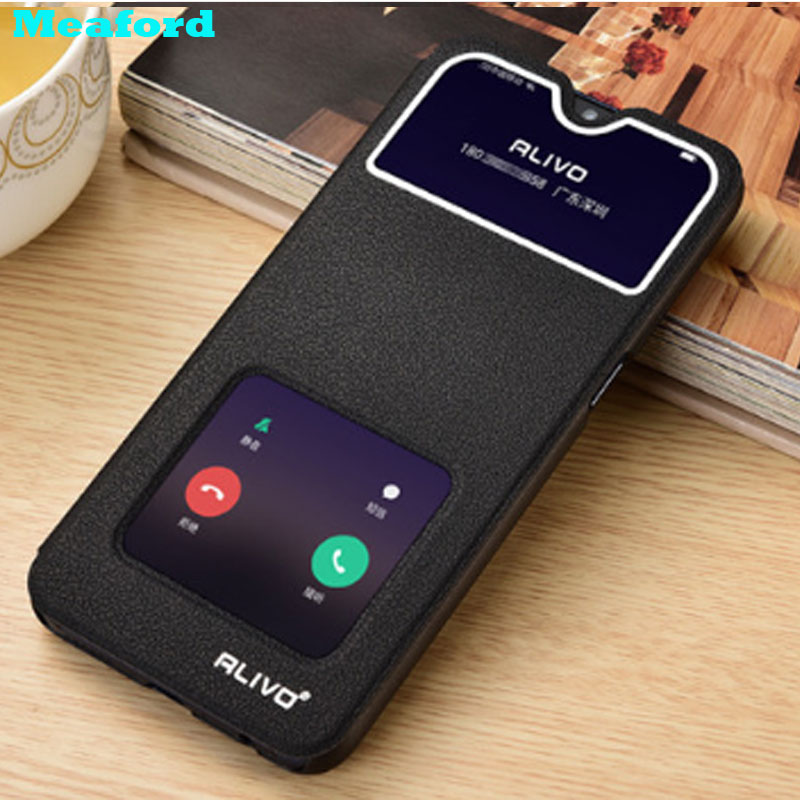 For <font><b>OPPO</b></font> <font><b>A9</b></font> <font><b>2020</b></font> <font><b>Case</b></font> View Window Stand Flip <font><b>Cases</b></font> for <font><b>OPPO</b></font> <font><b>A5</b></font> <font><b>2020</b></font> A11 A11X <font><b>A9</b></font> <font><b>2020</b></font> Cover Leather Coque for <font><b>OPPO</b></font> A31 <font><b>2020</b></font> <font><b>Case</b></font> image