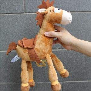 Image 3 - 1ชิ้น35Cm = 13นิ้วตุ๊กตาเดิมBullseyeม้าน่ารักWoodyม้าเด็กของขวัญเด็กของเล่นตุ๊กตาของเล่นเด็ก