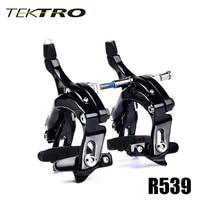 TEKTRO R539 Road Bike C Brake Caliper Lightweight Long Arm Brake Designed For Big Tire With Quick Release Safety Lock 320g/Pair