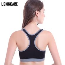 Women Sports Bra Seamless Padded Wirefree Underwear Push Up Fitness Tank Tops Breathable Gym Running Bra sujetador deportivo