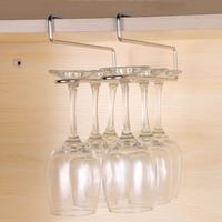 Wine Rack Hanging Rack Wine Glass Holder Stemware Rack Stainless Steel Accessories Wine Rack Glass Cup