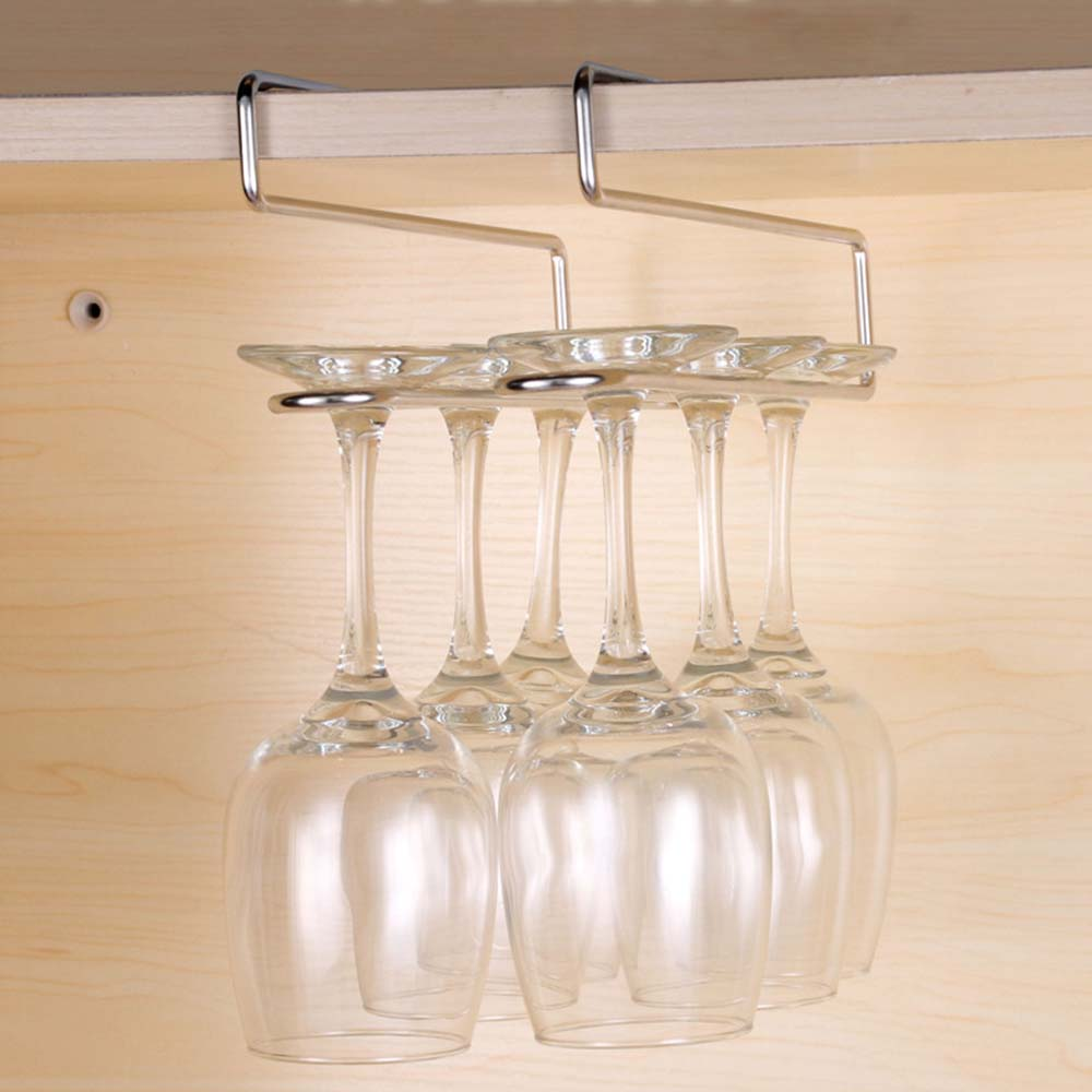 Wine Rack Hanging Wine Glass Holder Stemware Rack