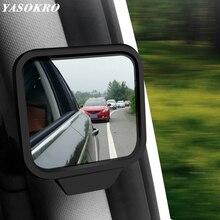Мини-зеркало заднего вида для автомобиля, регулируемое зеркало заднего вида для слепых зон