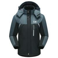Daiwa Ski Jacket Outdoor Sports Warm Coat Winter Windproof Fishing Clothing Plus Waterproof Fleece Snow Jacket