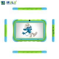 IRULU Babypad Y5 7 ''Android 7.1 IPS 1024*600 Quad Core Dual Cam Tablet PC 1G + 16G Wifi Bluetooth Funda de Silicona de Regalo para Los Niños