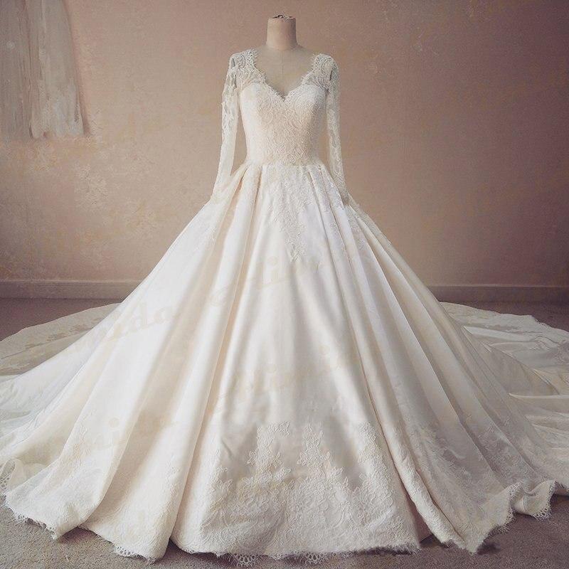 Full Sleeve Wedding Gown: Aliexpress.com : Buy 2017 Spring New Designer Elegant