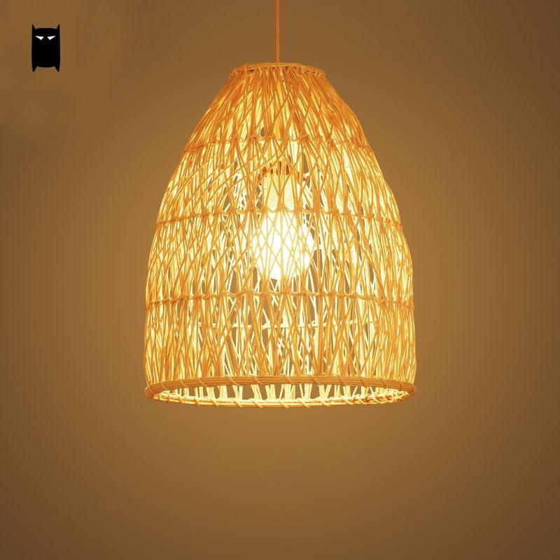 Rattan Pendant Lights