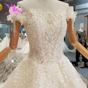 Image 2 - AIJINGYU Wedding Dres Russian Federation Lebanon Shanghai Plus Size Pakistani 2021 2020 Wedding Dresses and Gowns