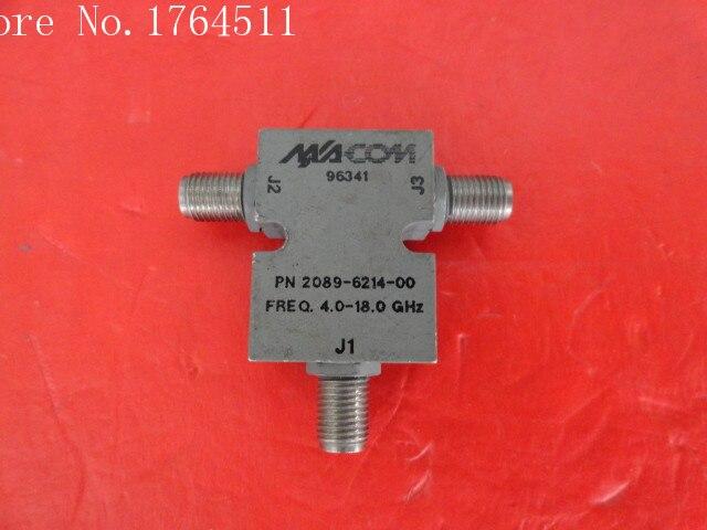 [BELLA] A Two M/A-COM RF Power Divider 2089-6214-00 4-18GHz SMA