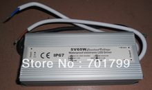 Mode commutateur 5v/60w, alimentation IP68, entrée