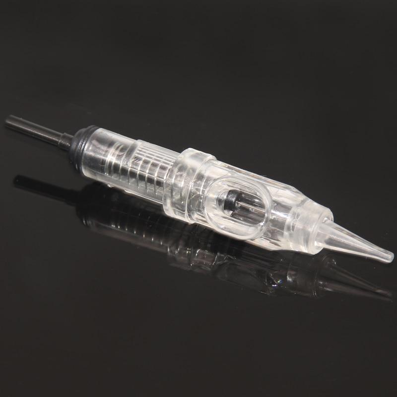 100pcs 3rl 600D-G Agulhas Easy Click Permanent Makeup Needles 3RL For Tattoo Cartridge Needles Rotary Swiss Machine Pen