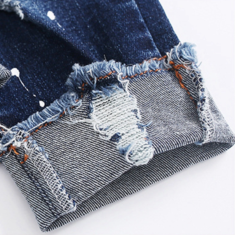 Chumhey 0-6T Spring Autumn Baby Girls Boys Child Jeans Pants Enfant Stretchy Denim Trousers Toddler Clothing 1 2 3 4 5 6 5
