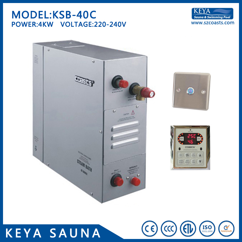 Persevering 4kw/220-240v/50-60hz Sauna Room Steam Powered Electric Generator For Sale Back To Search Resultshome Improvement Sauna Rooms