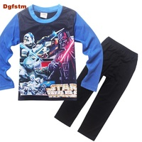 Brand Boys Sleepwear Clothes Kids Star Wars Pajamas Children S Clothing Set Baby Boy Cartoon Pijamas