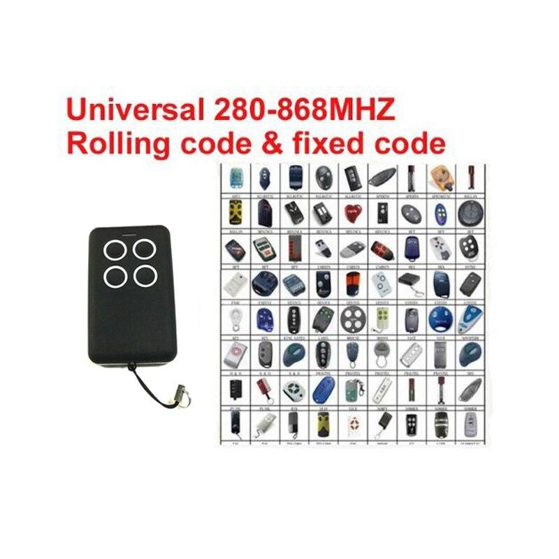 Новый для DEA FAAC Rolling Code фиксированный код дистанционного самообучения автоматическое сканирование AIO Дубликатор 868-280 МГц все-в-одном