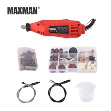 hot deal buy maxman mini tools boor elektrische boor 220 v variabele snelheid rotary tool met power tools accessoires dremel mini grinder
