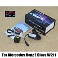 Para Mercedes Benz Classe E W211 2002 ~ 2008/Nevoeiro Neve Chuva Mau Tempo neblina Traseira Do Carro Luzes de Laser/Anti-Collision Warning Lamp