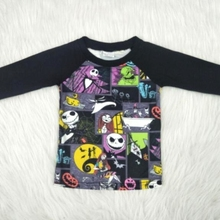 Wholesale/retail nightmare t shirt for baby girls boys unise