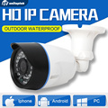 HD 720 P Câmera IP Onvif 1.0MP Bala IR Ao Ar Livre À Noite 2mp 1080 p câmera de segurança cctv visão h.265 android iphone xmeye unitoptek