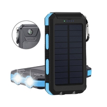 FancyQbue New Style 10000mAh Solar Power Bank Charger Portable Solar Phone Chargers For Mobile Electrical Equipment