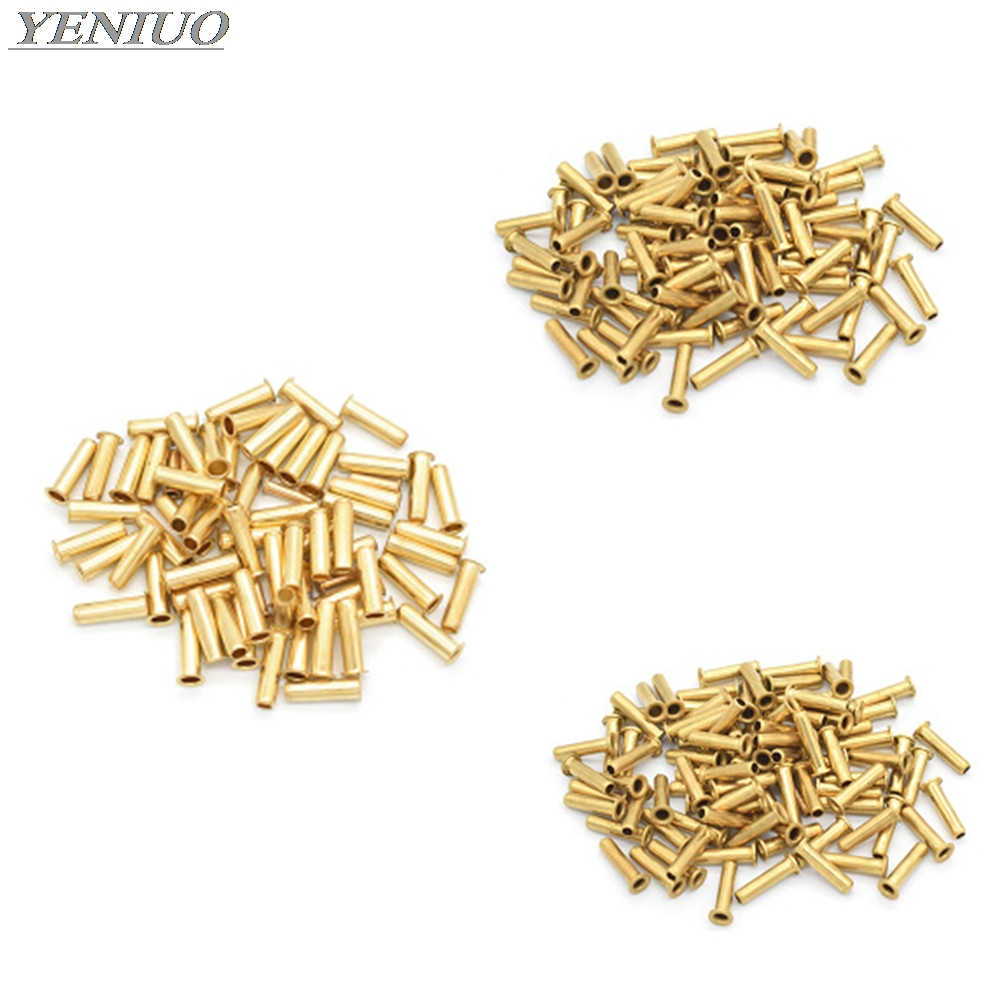 10pc Brass Tubing Bushing  4 6 8 10 12mm Nylon Tubing Oil Core/tubing Oil Core Oil Pipe Fittings  Compression Sleeve Fitting