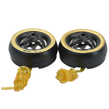 AOSHIKE2Pcs Car Tweeter Ball Audio Speakers Stereo Portable Loudspeaker 1.7Inch 4 Ohm 5W Speaker image