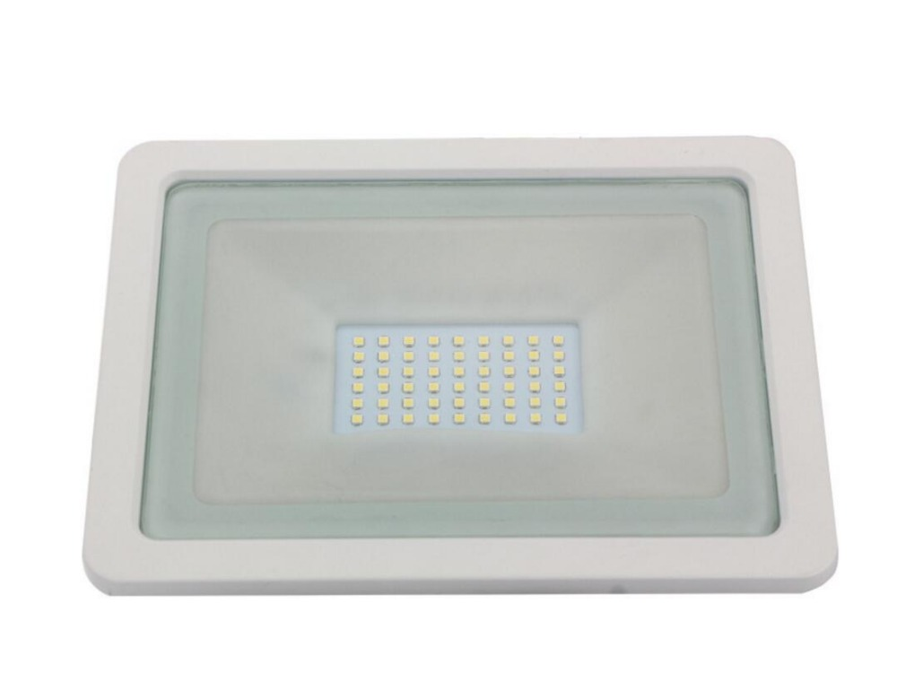 Newest 10W 30W 50W 100W LED Flood Light SMD Outdoor lamp waterproof flood lights 85-265V IP66 100LM/W Free shipping ...
