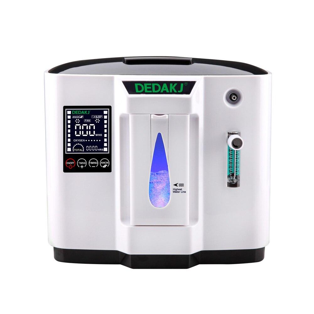 DEDAKJ DDT-1A/1B AC110V/220 v Réglable Portabl Concentrateur D'oxygène Machine Générateur Purificateur D'air Maison Sans Batterie 2 styles