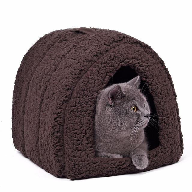 Pawz Road Summer Cat Bed Pet House Kennel Lovely Kitten Home Puppy Cushion Mats Easy to Carry Goods for Pet Products for Animals