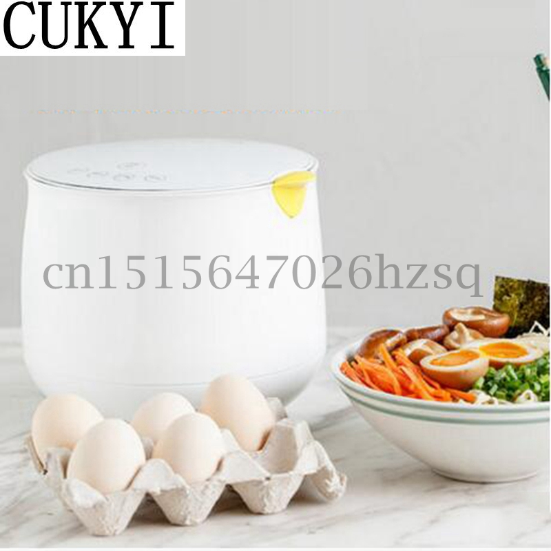 CUKYI 220V 500W Household Electric Multifunctional Egg Cooker for up to 6 Eggs Boiler Steamer Cooking Tools Kitchen Bird shape цена