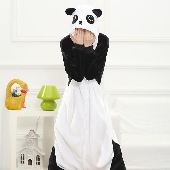 Cizgi film heyvanı birləşdirilmiş Panda pijama Unisex Animal - Karnaval kostyumlar - Fotoqrafiya 6