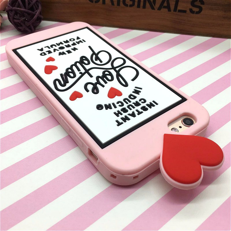 HTB1c6oCNFXXXXXVXVXXq6xXFXXXX - Fashion 3D Sweet Love Polion Chill Pills Rubber Soft Cute Back Cover for Apple iPhone 6 6s 4.7'' Funny Silicone Phone Case Shell PTC 232