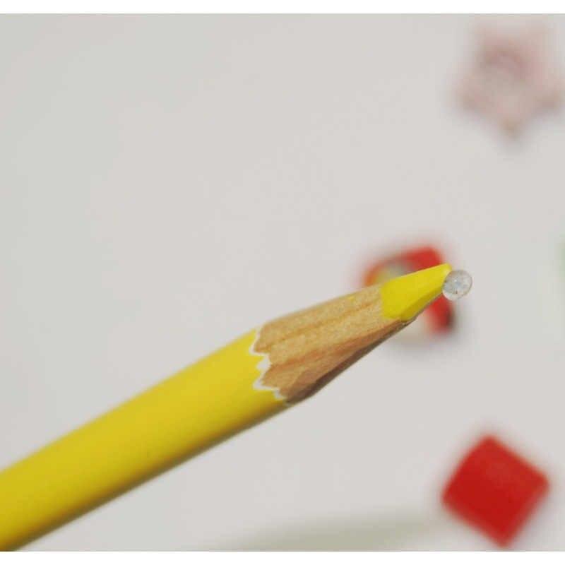 Caneta de lápis de qualidade especial da categoria industrial 10 unidades/pacote preto/vermelho/amarelo/branco/roxo couro, plástico, porcelana, metal, etc