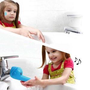Image 2 - Leuke Animal Sink Tap Peuter Extender Wassen voor Kids Kinderen Hand Wassen Badkamer Keuken Water Kraan Extension