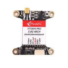 Alta Calidad 40CH VT5804 Pro 5.8G 25 mW 200 mW 600 mW Conmutable S. BUS Transmisor FPV Con IPEX Antena Para RC Multirotor FPV