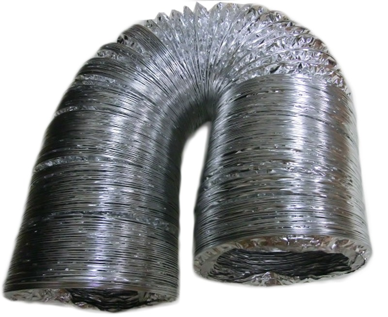Алюминиевая фольга огонь трубки дым трубки дымовой трубы 152 мм Диаметр 8 м Длина для лазерной гравировки и резки пылевые
