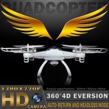 Wifi fpv rc T40 2.4G RC Quadcopter drone con HD cámara WIFI de vídeo en directo en tiempo real transimition headless modo de control remoto dron