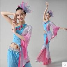 Chinese Costume Umbrella Dance