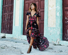 Dress Etehnic Sexy Print Retro Vintage Dress Tassel Beach Dress Bohemain Hippie Dress Robe Vstidos Mujer