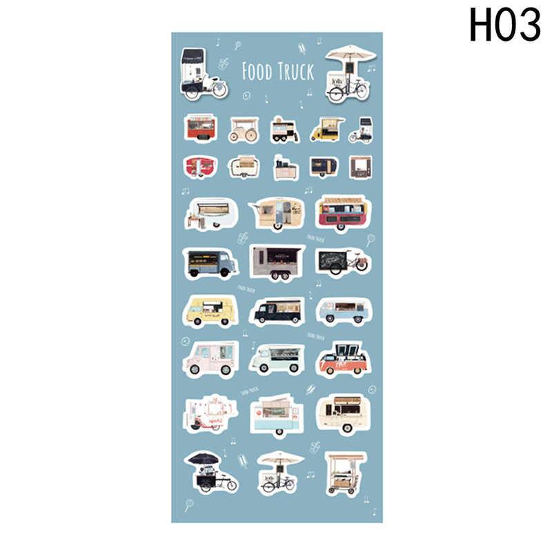 Красочный Творческий различные конструкции декоративные наклейки, дневник Стикеры украшение для альбома pvc канцелярские принадлежности Стикеры s