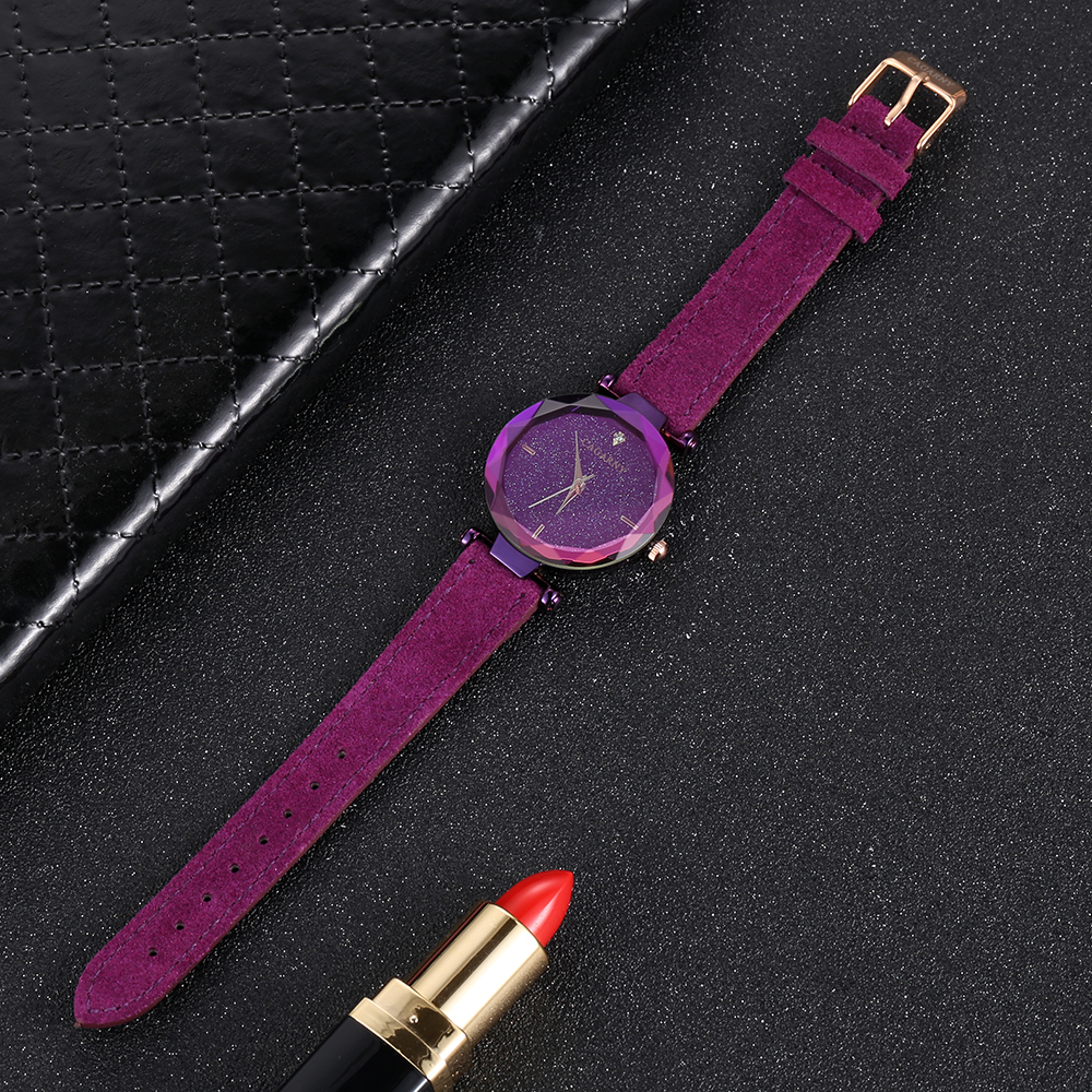 cagarny 2018 Leather Women Watches Ladies Luxury Brand Famous Wrist Watch Fashion Dress Female Clock Relogio Feminino Montre Femme (2)