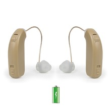 USB Rechargeable BTE Hearing Aid for The Elderly Senior / Left Right Hearing Loss Sound Amplifier Ear Care Hearing Aids Dropship