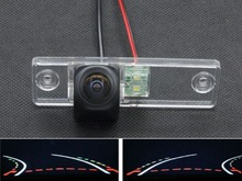 Fisheye Lens 1080PTrajectory Tracks Car Rear view Camera ForToyota Fortuner SW4 2005 2006 2007 2008 2009 2010 2011 2012