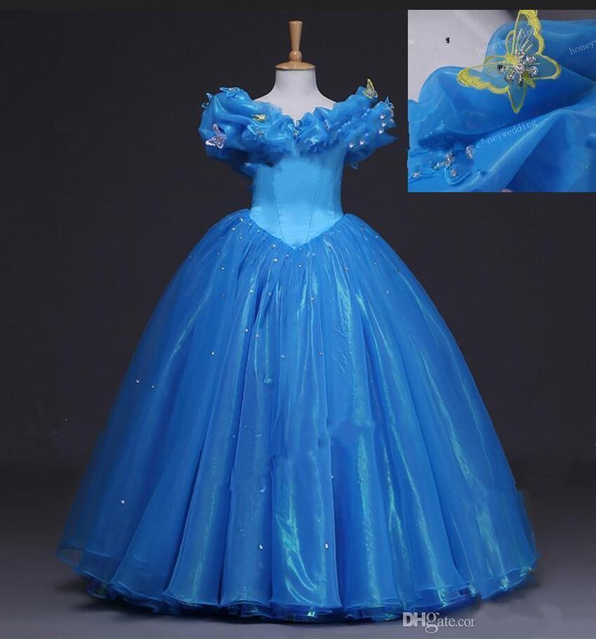 Cinderella Wedding Dress Child : Popular princess cinderella images buy cheap