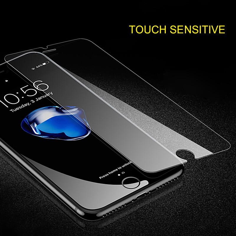 9 H Tempered kembali kaca Untuk iphone XR X 8 5 5 s SE 6 6 s ditambah - Aksesori dan suku cadang ponsel - Foto 3