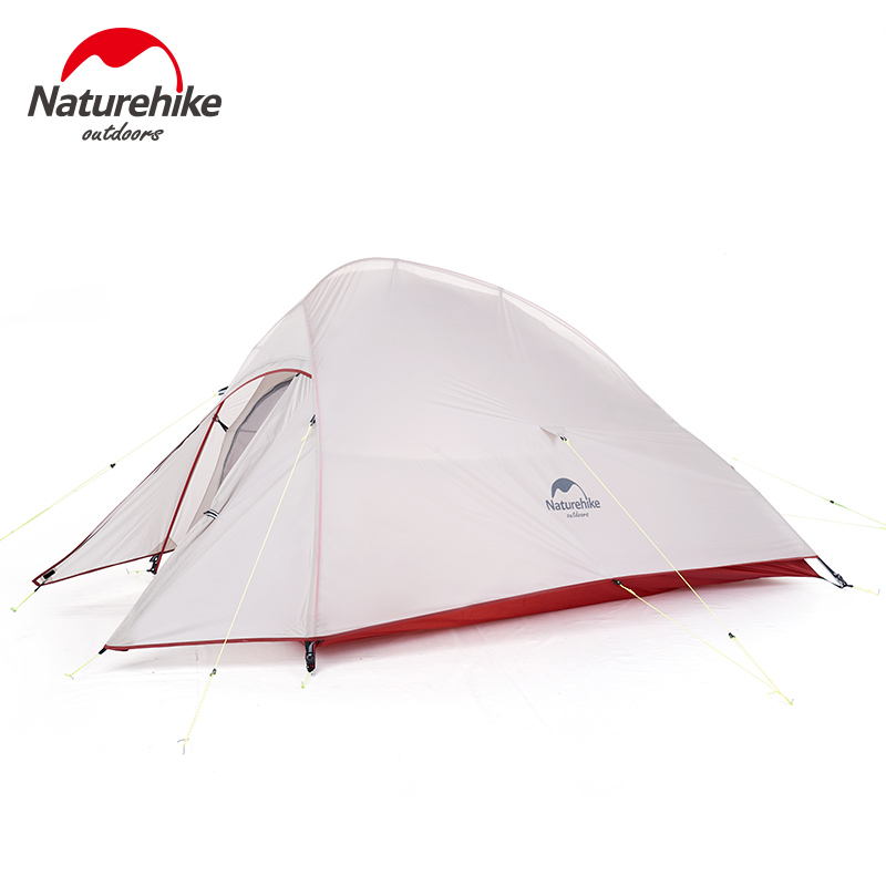 Naturehike CloudUp Series Ultralight Hiking Camping Tent 20D Fabric For 2 Person With Mat Outdoor Traveling Equipment 1